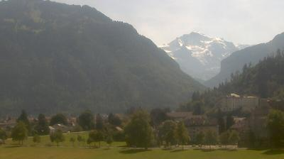 Tageslicht webcam ansicht von Interlaken: Jungfrau Region