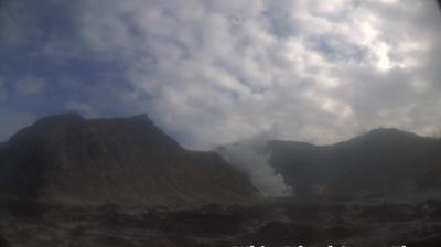Daylight webcam view from Whakatane: White Island Crater Floor