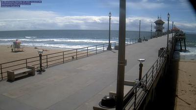 Vue webcam de jour à partir de Huntington Beach