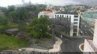 Daylight webcam view from Sao Martinho: Madeira
