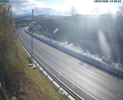Ittigen: A Wankdorf - Richtung Einfahrt nach Zürich