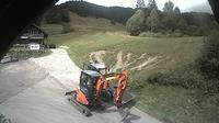 Bernau im Schwarzwald > North-West: Blick aus der Skih�tte des Skiclub Tiengens auf den Lifthang in Bernau Hof Eck - Overdag