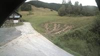 Bernau im Schwarzwald > North-West: Blick aus der Skih�tte des Skiclub Tiengens auf den Lifthang in Bernau Hof Eck - Dagtid
