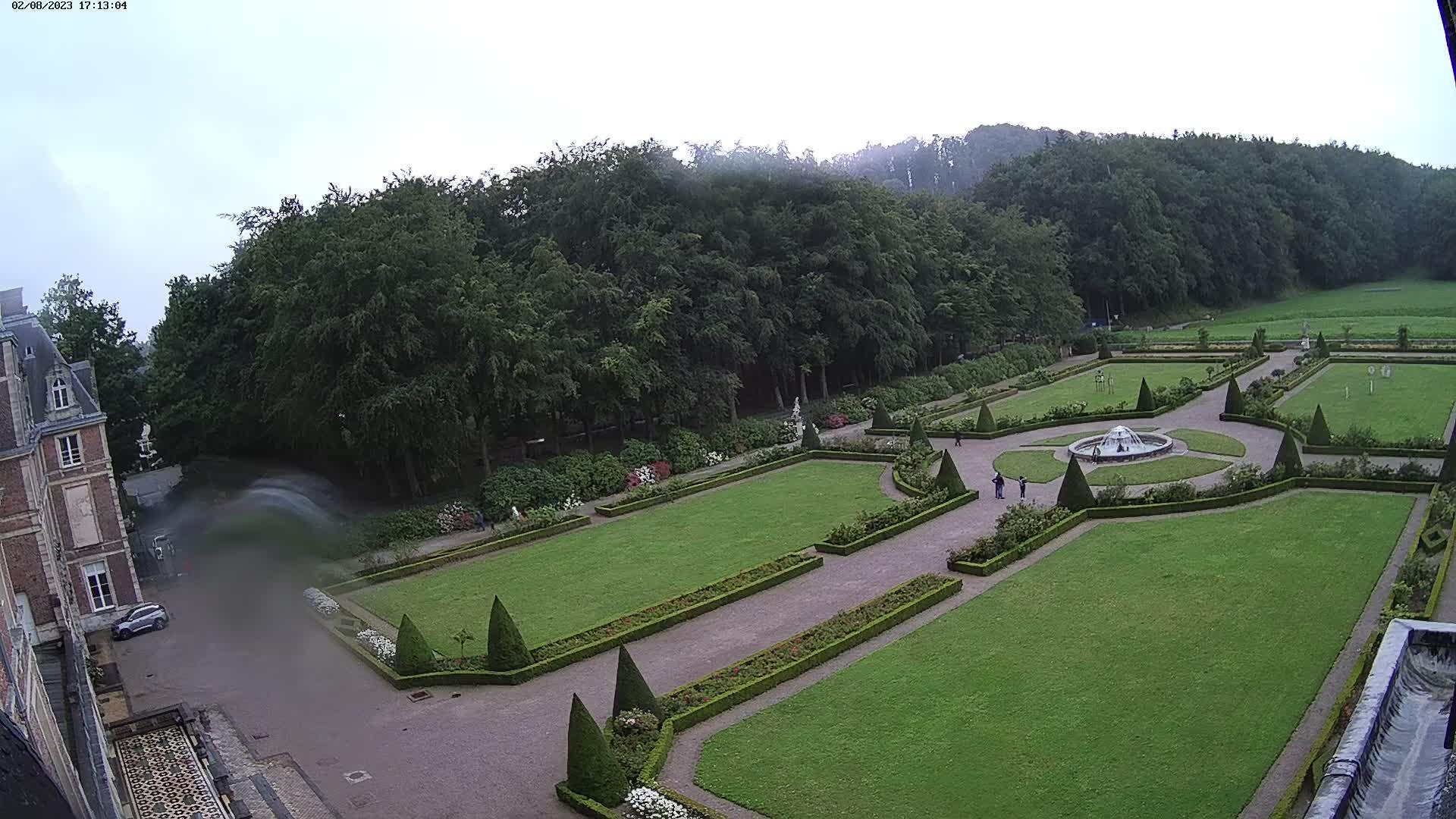 Webkamera Eu: Parc et Roseraie