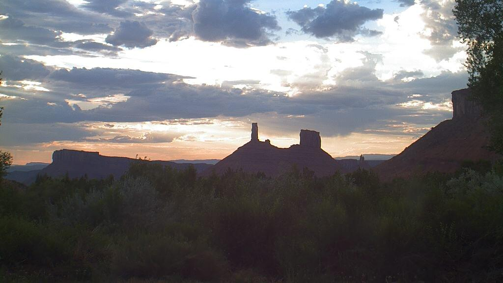 Webcam Castle Valley: Castleton