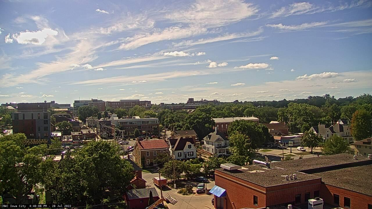 Webcam Iowa City: City
