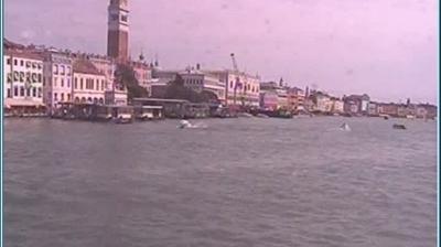 Webcam Sestière di San Marco: Punta della Dogana − Veneti