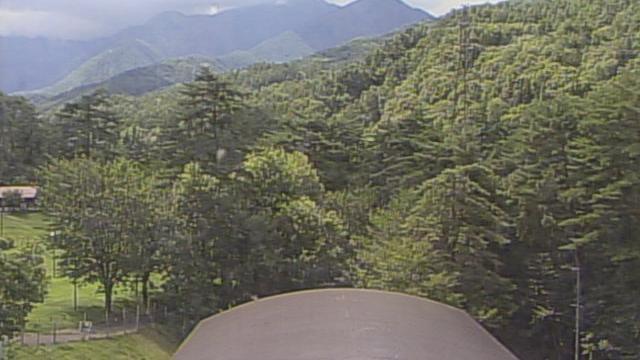 Webcam 豊里: 常念岳-安曇野市穂高