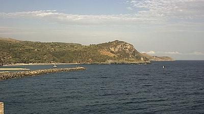 Vista actual o última desde Camerota: Porto di