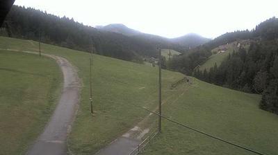 Daylight webcam view from Döttelbach › South West: Höhengasthaus Pension Café Herbstwasen: Blick vom Gasthaus Herbst