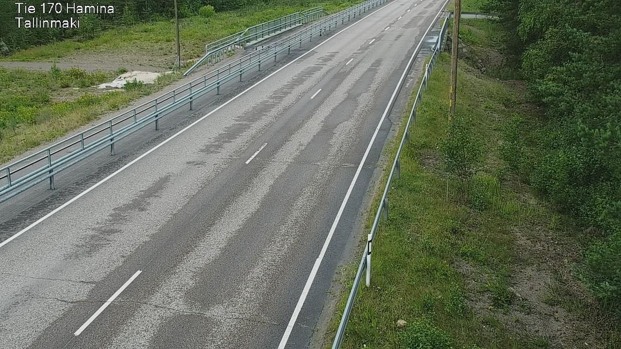 Webkamera Hamina: Tie 170 − Tallinmäki − Haminaan