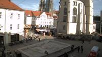 Regensburg: Neupfarrplatz - Dagtid