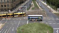 Dresden > West: Carolaplatz - Overdag