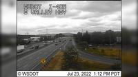 Burien: I- at MP .: West Valley Hwy (SR ) - Overdag