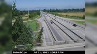 Richmond > North: , Hwy , looking north from Steveston interchange - El día