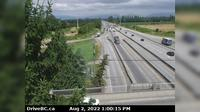 Richmond › North: , Hwy , looking north from Steveston interchange - El día