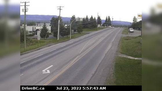 Webcam Burns Lake › West: Hwy 16, in − at N. Francois Hwy
