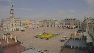 Daylight webcam view from Zamość: Rzeczpospolita − KAMERA