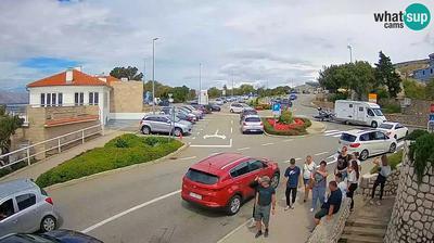 Majorija: Senj entrance road, the roundabout