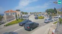 Majorija: Senj entrance road, the roundabout - Dagtid