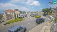 Majorija: Senj entrance road, the roundabout - Day time