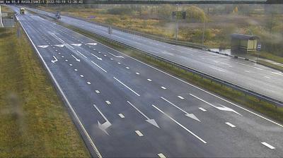 Vista de cámara web de luz diurna desde Bakstauski sielski Saviet: Rasolishki M . km