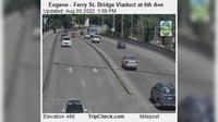 Eugene: Ferry St. Bridge Viaduct at th Ave - El día