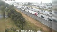 Kingsview Village: Highway  near Kipling Avenue - El día