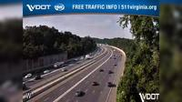 Fairfax Hills: I- - MM - SB - I- south of Route - Day time