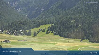 La Punt: Wasserreservoir - Müsella