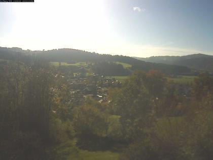 Langnau im Emmental: Aussicht vom Dorfberg in Langnau