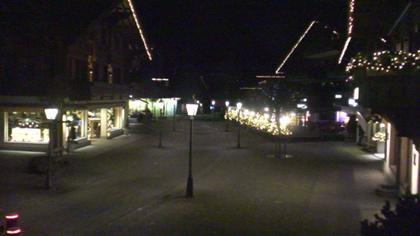 Gstaad: Promenade