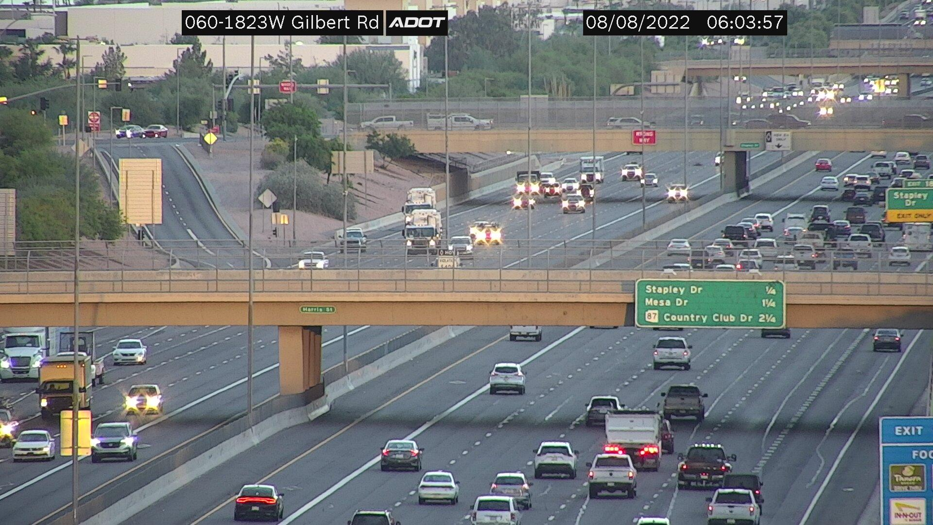 Webcam Knoell Mesa: US 60 @ Gilbert
