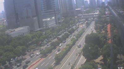 Tageslicht webcam ansicht von Pelamburan: Slipi − Palmerah − Barat