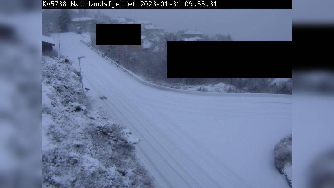 Webcam Nattland: F00 Nattlandsfjellet (Kommunal veg)