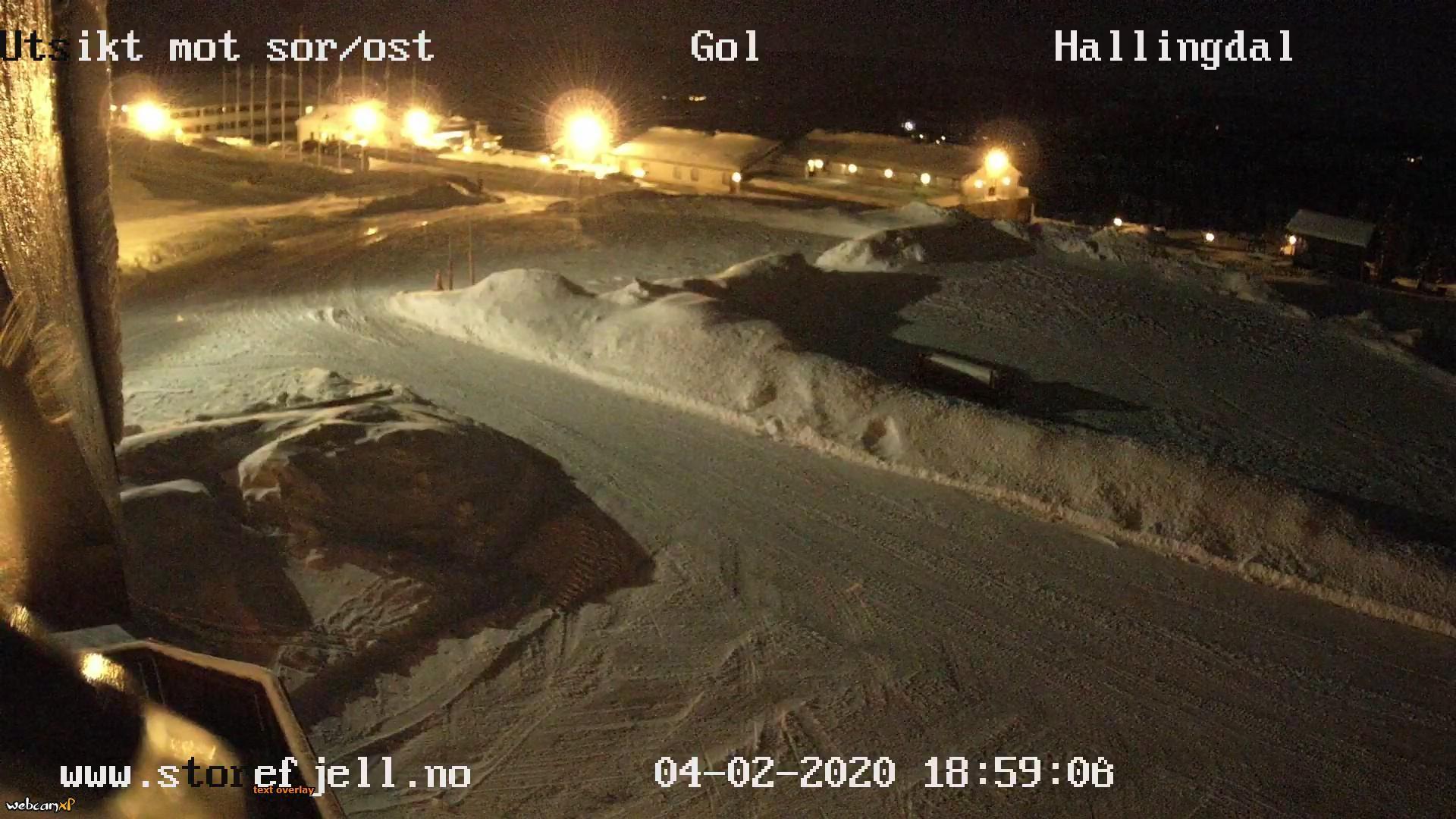 Webkamera Kamben: Storefjell Resort hotel Golsfjellet