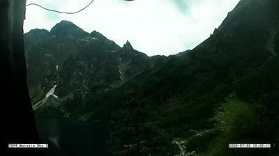 Daylight webcam view from Morskie Oko: Zakopane