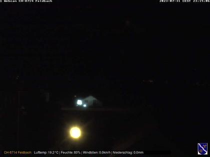 Feldbach: Blick über den Zürichsee Richtung Schwyzer Voralpen und Glarneralpen