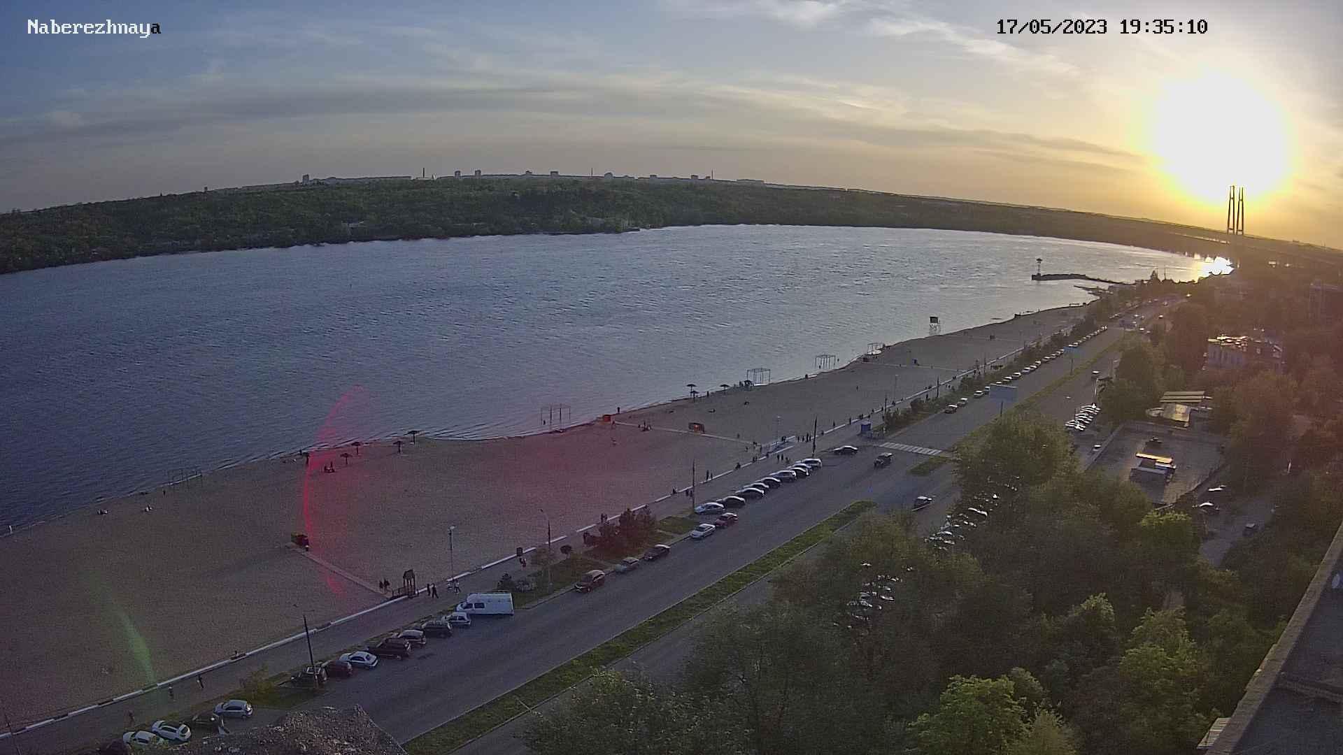 Webcam Voznesenka: Набережная, Центральный пляж