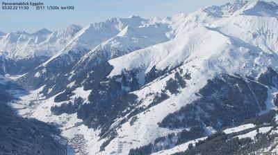 Daylight webcam view from Auen: Eggalm