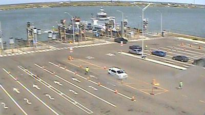 Web cams to show ferry lines