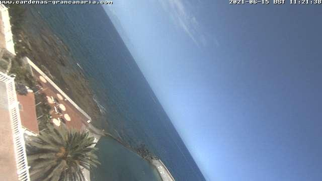 Webcam La Playa de Arguineguín: Arguineguin − Mogan − Gra