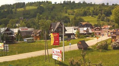 Webcam Biały Dunajec › North-West: Rzeczpospolita − Widok