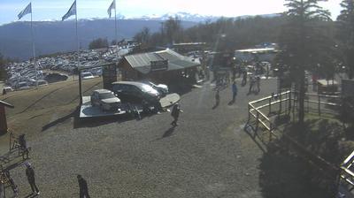 Vue webcam de jour à partir de San Martín de los Andes › North West: Cerro Chapelco Neuquén