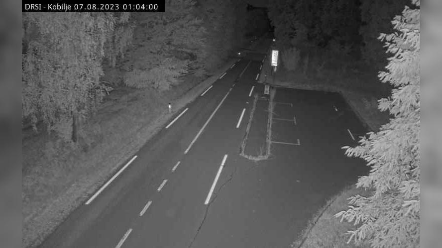 Webcam Kobilje: R2-439 − Dobrovnik, prehod