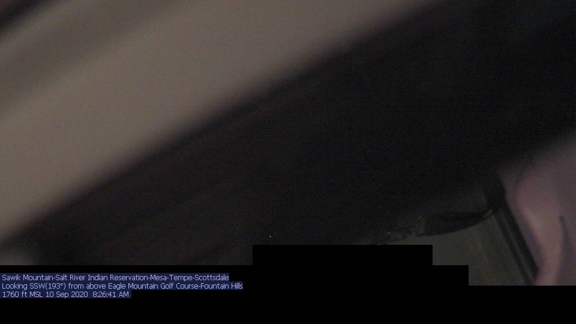 Webcam Eagle Mountain Golf Club › South: Sawik Mountain −