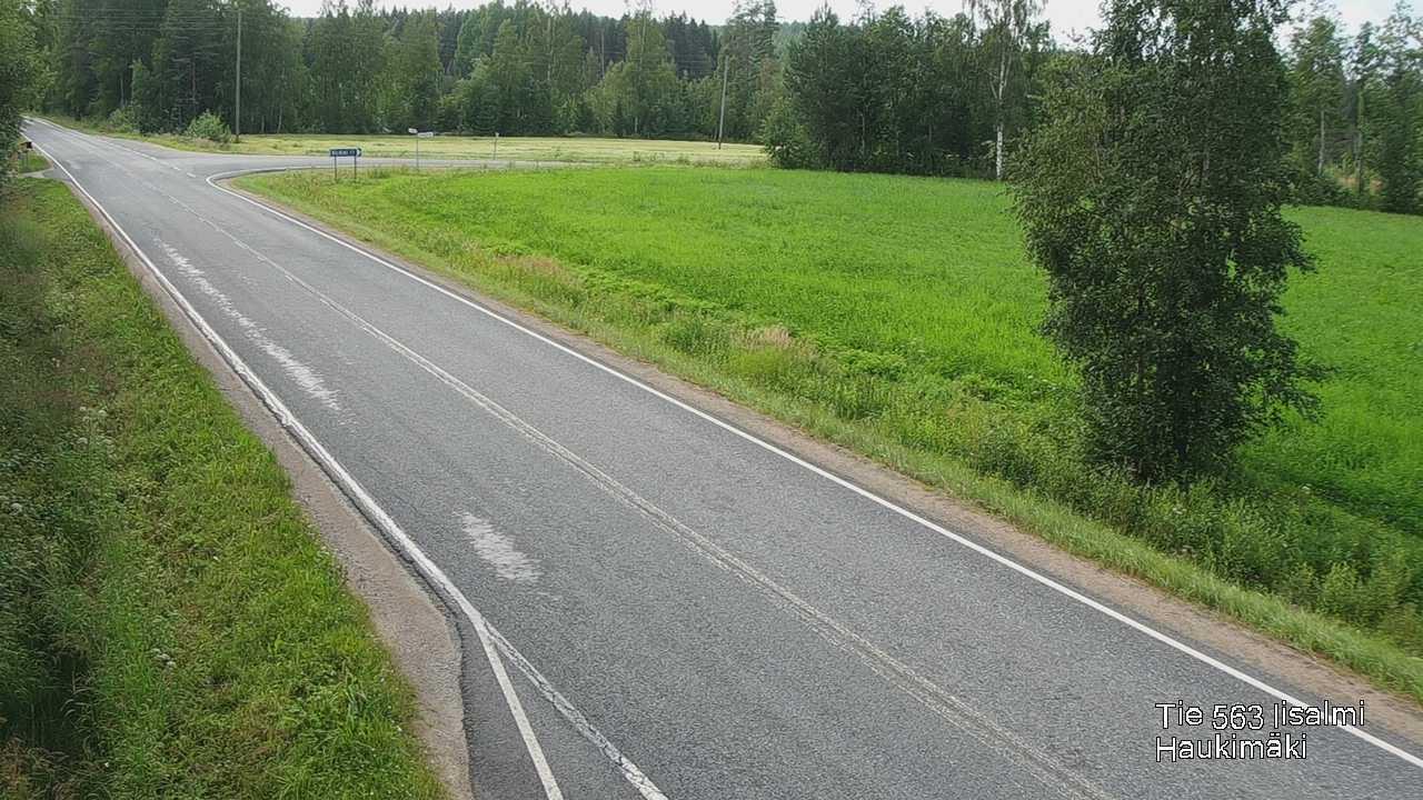 Webcam Iisalmi: Tie 573 − Haukimäki