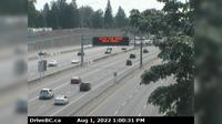 Surrey > South: , Hwy  at Port Mann Bridge, looking eastbound - Dagtid