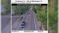 Oregon City: Clackamas Co - th at Washington St - Aktuell