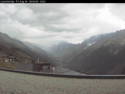 Lauchernalp: mit Blick zur Lötschenlücke